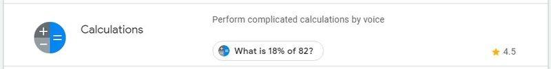 Google Assistant Productivity Calculator