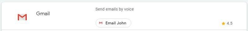 Google Assistant Productivity Gmail