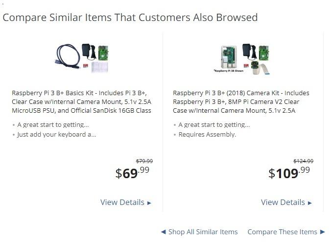 Newegg Compare Similar Items
