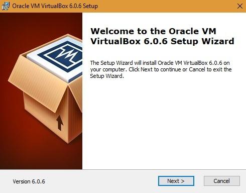 Oracle Vm Virtualbox 6.0.6. Setup Wizard