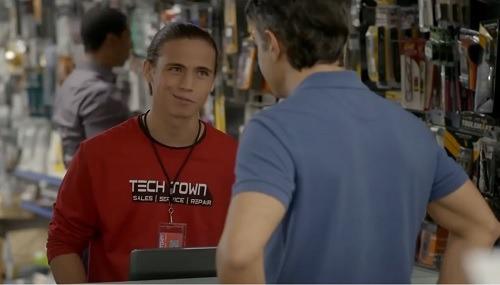 Robby Steals Laptop Cobra Kai Tv Series 1st Season