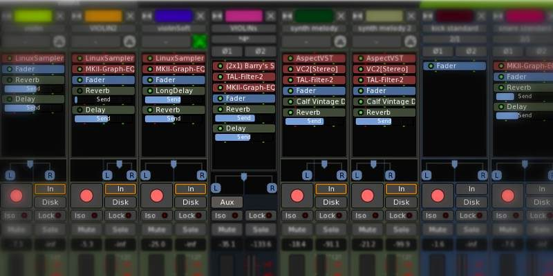 Best Apps Creating Recording Music Linux Featured