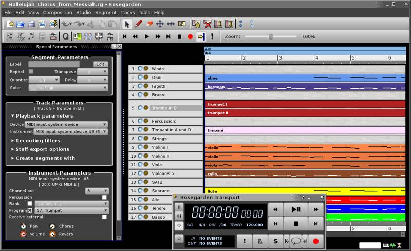 Best Apps Creating Recording Music Linux Rosegarden