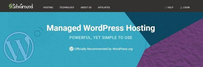 Best WordPress Hosting Siteground