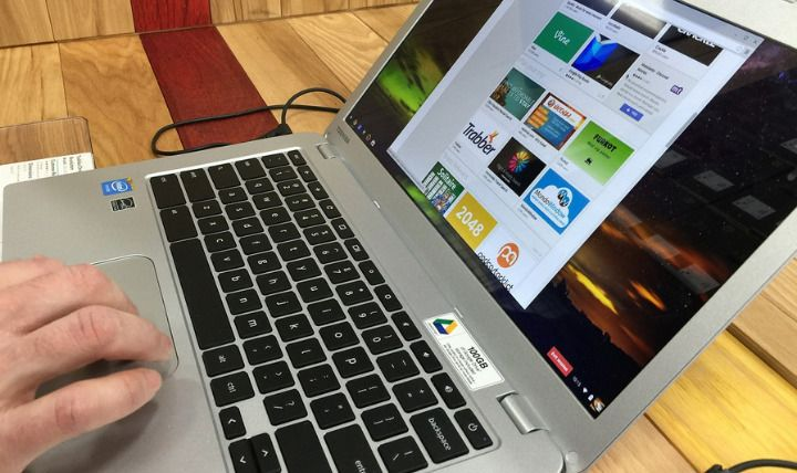 Chromebooks Using