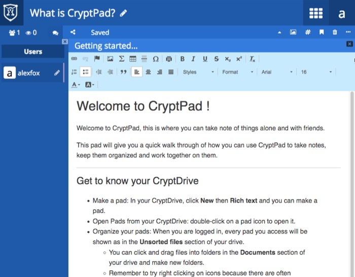 Cryptpad Privacy Focused Google Alternatives Google Docs