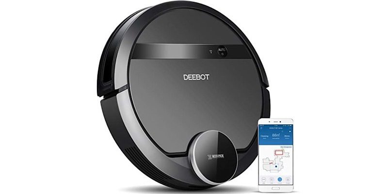 Deal Deebot Robotic Vacuum Cleaner Featured