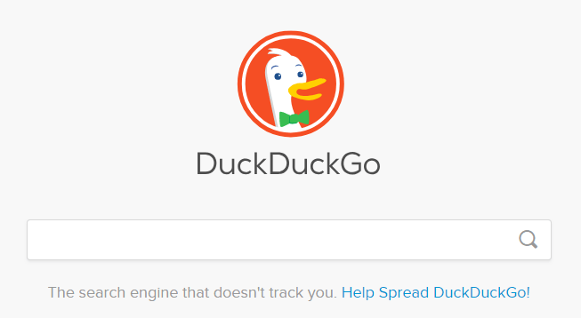 Duckduckgo How Home Page