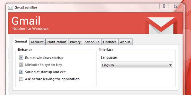Gmail Notifier Featured