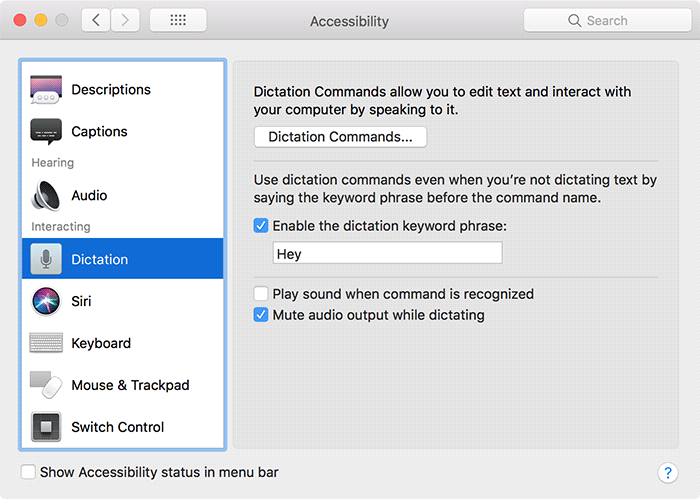 Hey Siri Old Macs Enable Keyword