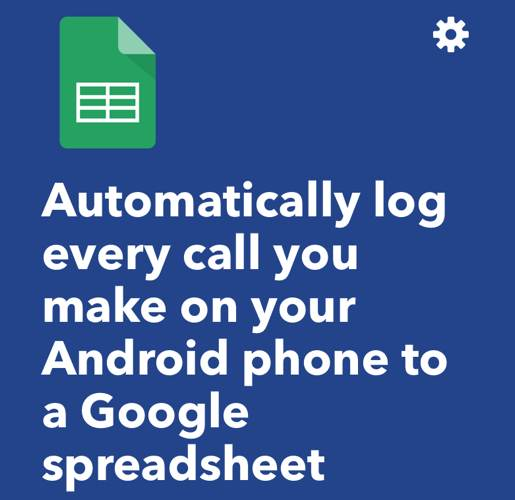 Ifttt Android Automation Log Phone Calls