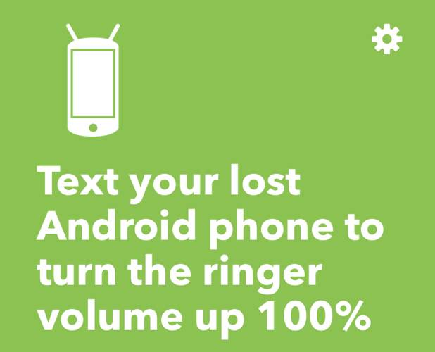 Ifttt Android Automation Lost Phone