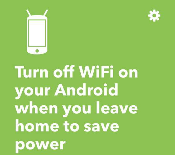 Ifttt Android Automation Wi Fi Auto On Off
