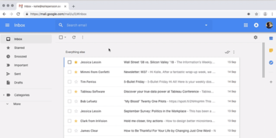 Inbox Theme For Gmail Featured