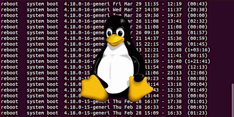Linux Reboots Shutdowns