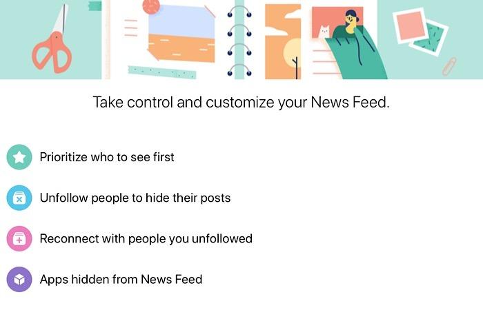 News Facebook Algorithm Settings