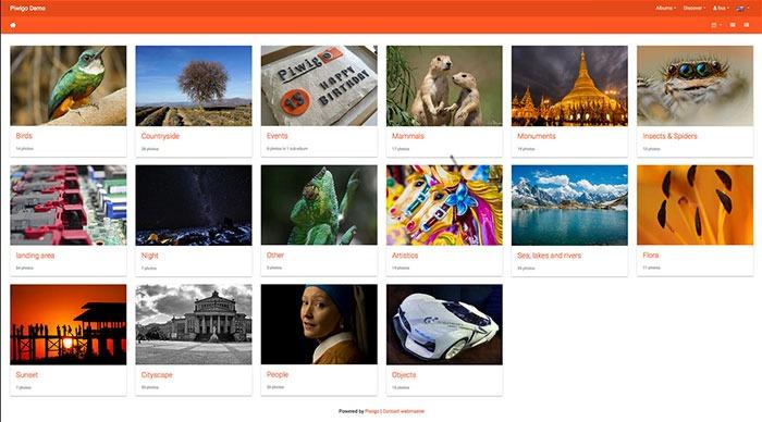 Piwigo Privacy Focused Google Alternatives Google Photos