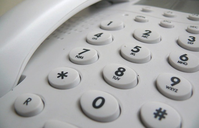 Real Phone Scam Keypad