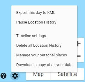 Sensorvault Delete Location History
