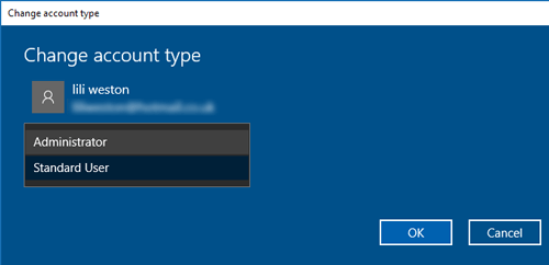 Taskbar Not Working Windows 10 Account Type