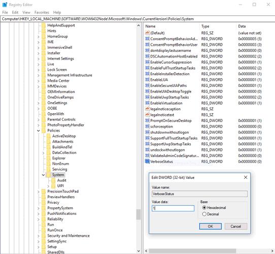 Taskbar Not Working Windows 10 Registry