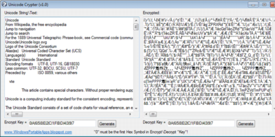Unicode Crypter Featured