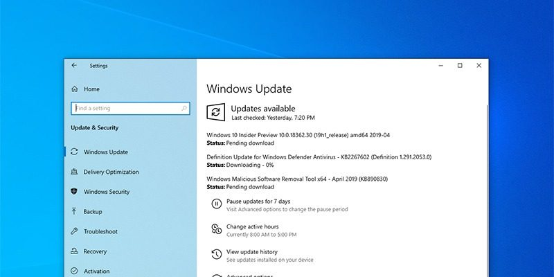 How to Uninstall Windows 10 Updates When the PC Is Not