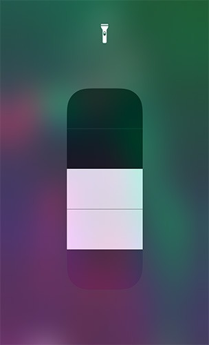 Useful Control Center Widgets Flaslight