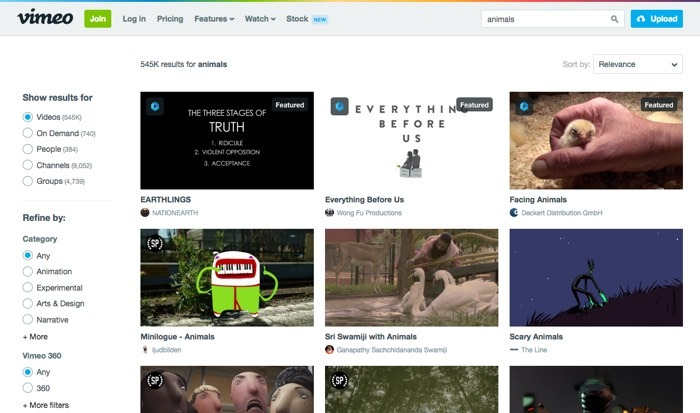 Vimeo Privacy Focused Google Alternatives Youtube