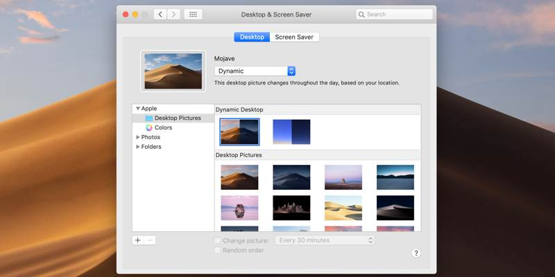5 Websites to Download Dynamic Wallpaper for macOS Mojave