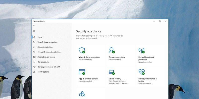Win10 Windows Defender Featured