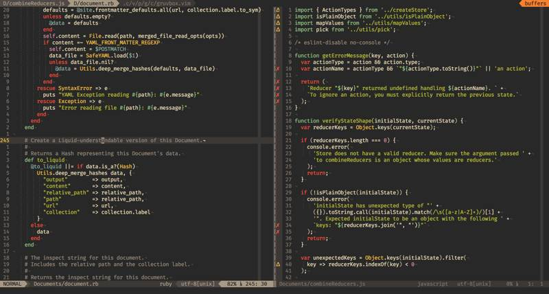 Xfce Terminal Themes Gruvbox