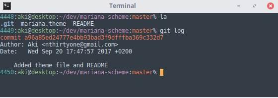 Xfce Terminal Themes Mariana