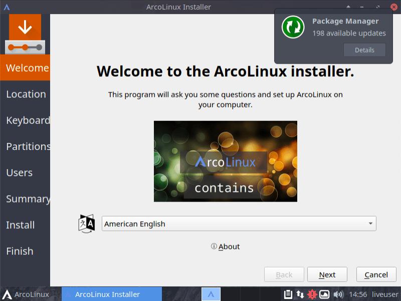 Arch Linux Arcolinux Desktop