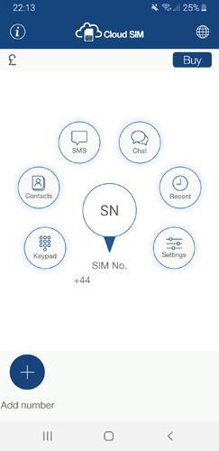 Virtual Sim Cloud Sim App Profile