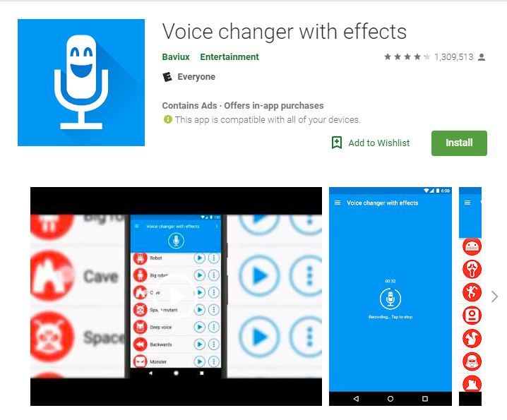 Voice Changing Apps With Effects