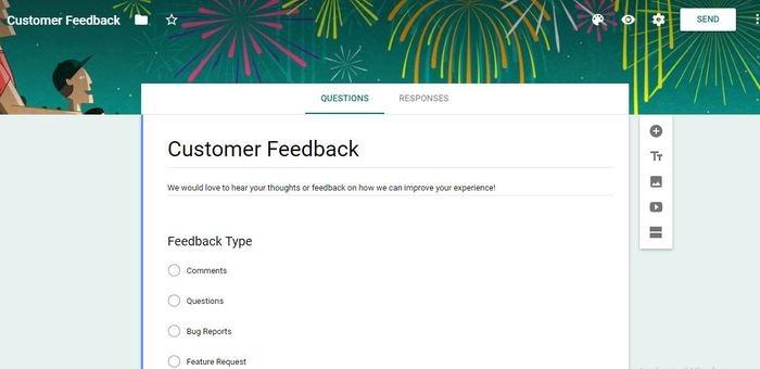 Ways Use Google Forms Customer Feedback
