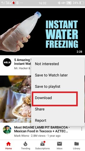 Youtube Download Videos