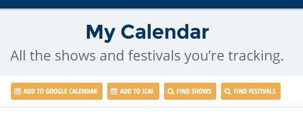 Add Google Calendars Jambase Calendar Options