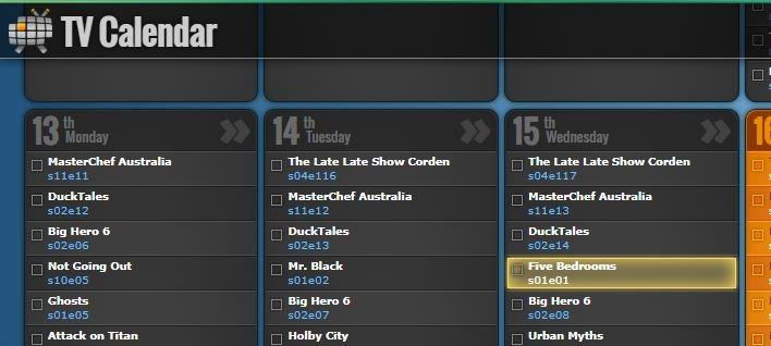 Add Google Calendars Television