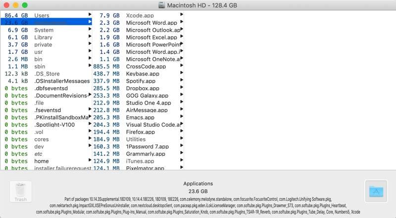 Analyze Disk Space Mac Omnidisksweeper