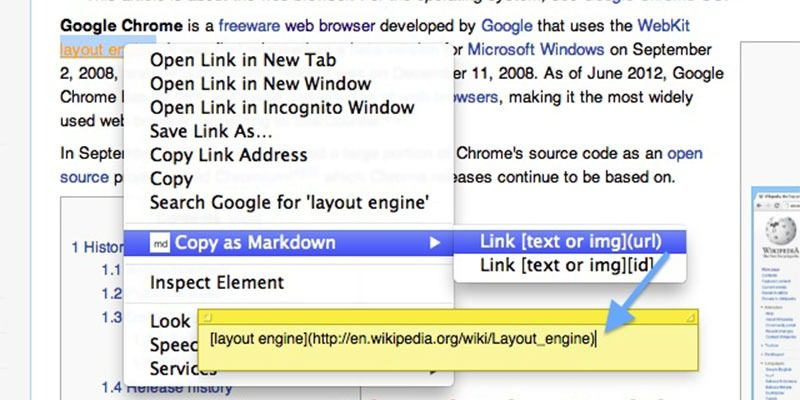 Copy As Markdown Featured