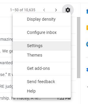 Daily Digest Google Assistant Gmail Settings