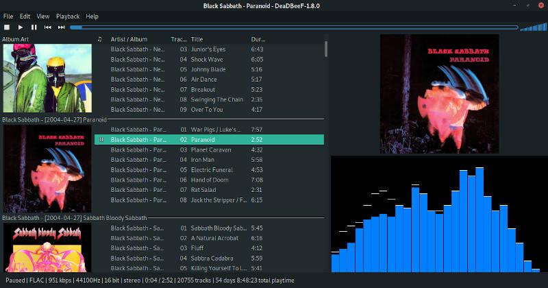Deadbeef Playlist Customized