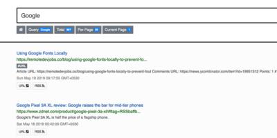 Feedi Search Engine Featured