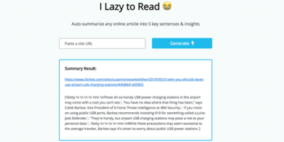 I Lazy To Read Featured