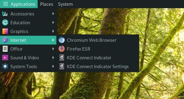Launch KDE Connect