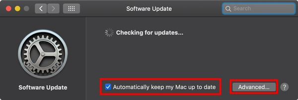 Macos Auto Updates Enable Updates