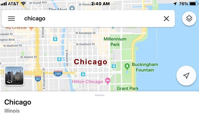 News Google Incognito Maps Search Chicago