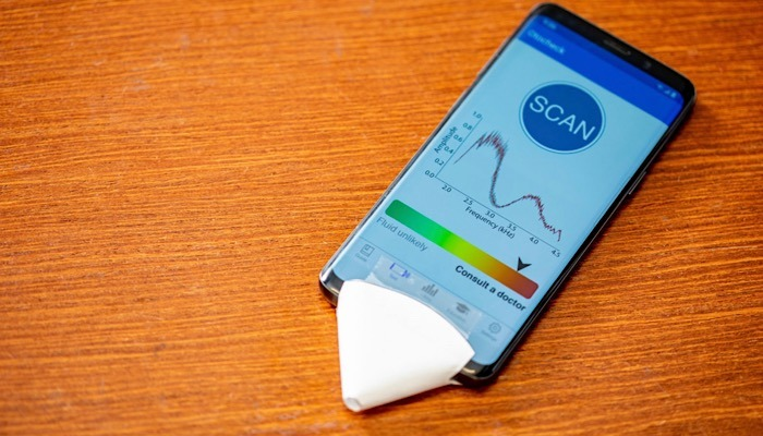 News Smartphone App Ear Infections Phone